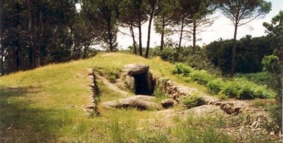 Dolmen of Arquinha da Moira, in Carregal do Sal
