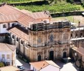 The Monastery of Santa Maria de Salzedas, in Tarouca